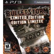 Ps3 Bulletstorm Limited Edition Disco Fisico Nuevo Y Sellado