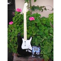 Guitarra Inalambrica Rockband Ps3 Con Juego