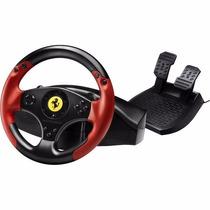 Control Volante De Carreras Ferrari Edición Leyenda Roja Ps3