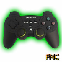 Control Gamepad Inalambrico Eurocase Ps2 Ps3 Pc Usb Pictus
