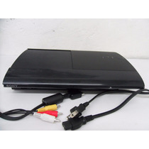 Ps3 Ultra Slim 250gb,solo Consola Con Cables,funciona Al 100