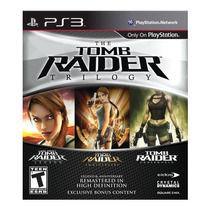 Tomb Raider Trilogy Ps3 Play Station