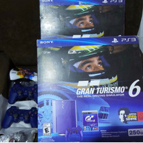 Play Station 3 250 Gb. Gran Turismo 6 Azul