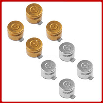 Botones Tipo Bala Oro O Plata Metalicos Control De Ps3 Ps4