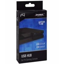 Usb Hub Para Playstation 4 De 2 A 5 Entradas, Ps4, Recoge Df