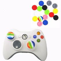 8 Gomas Grips Para Joystick Controles Xbox Ps3 Ps4 Xbox One