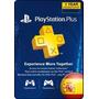 Tarjeta Gift Card Playstation Plus 12 Meses D España Ps4 Ps3
