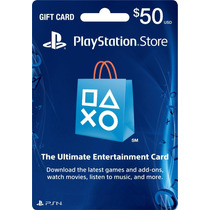 Tarjeta Psn Card (playstation Network) Americana,$50 Dolares