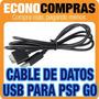 Cable De Transferencia De Datos Usb Para Psp Go 100% Nuevo