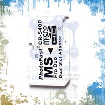 Adaptador Ms Pro Duo Micro Sd 32 Gb Psp Mayoreo Comtf
