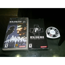 Metal Gear Solid Portable Ops Plus Completo Psp