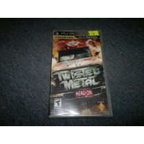 Twisted Metal Head On Completo Psp