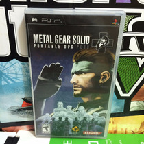 Metal Gear Portable Ops Plus Psp