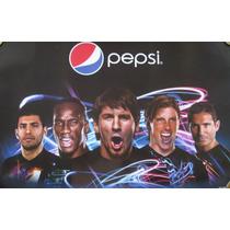 Pepsi Poster Messi, Torres, Lampard, Aguero, Drogba