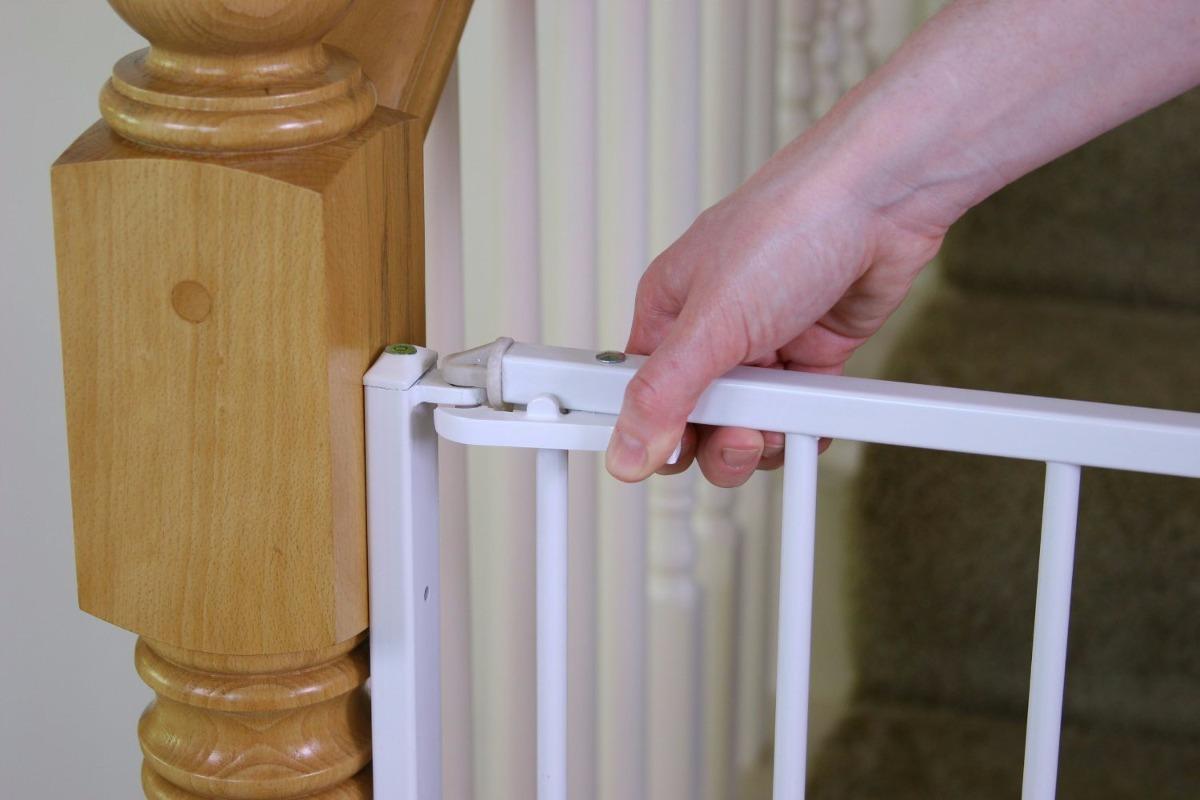 Puerta de seguridad material acero durable regalo bebes - Seguro para puertas bebe ...