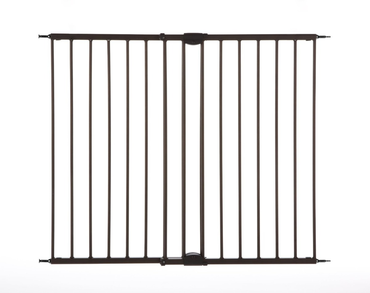 Puerta de seguridad para ni os supergate swing mate bronce - Puertas de seguridad para ninos ...