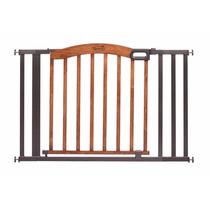 Puerta Reja De Seguridad Madera Y Metal Summer Infant