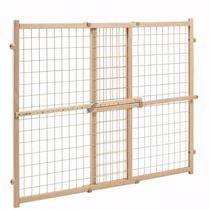Puerta Reja Seguridad Evenflo De Madera Resistente Y Vinilo