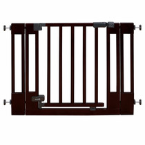 Puerta Gate Reja De Seguridad Bebe O Mascota Madera De Lujo