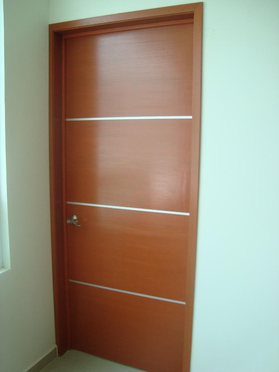 Puertas minimalistas para exterior car interior design for Puertas de madera exterior precios