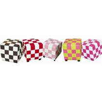 Puff Taburete Sillon Lounge Domino Varios Colores