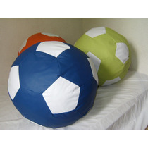 Puff Balón Soccer Futbol Football 60 Cm