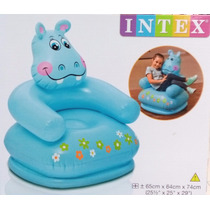 Sillón Infantil Inflable Puff Sillones Reposet Aire Mueble