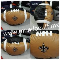 Puff Balon Americano Nfl Santos De Nueva Orleans