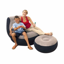 Sillón Inflable Puff Sillones Reposet Aire Mueble Lounge