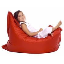 Sillón Puff En Peluche Freedom Sofa Confort