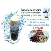 Filtro Purifica, Genera Agua Alcalina Y Antioxidante, Caa