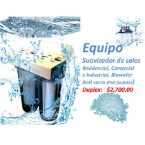 Filtro Suavisador Anti Sarro Agua Dura Sales Calcio Cal Dmm