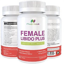 Libido Femenina Plus - 120 Cápsulas - Horny Goat Weed (1000