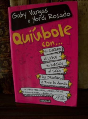 Libro de yordi rosado quiubole para hombres