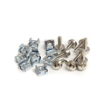 Pack 100 Tornillos Tuercas Cage Nuts M5 Cabscrewm52