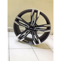 Rin Reaco Sa De Cv 20x7.5 5-100 R1 Sport Machine, Gun Metal