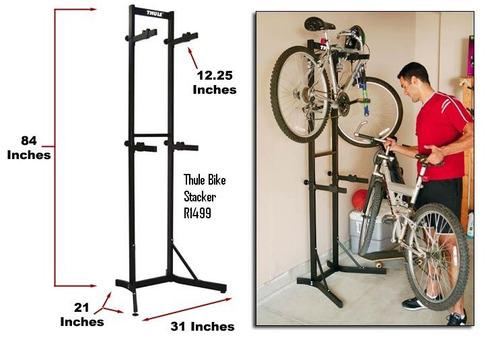 Rack Bicicleta Thule Rack Para Almacenar Bicicletas