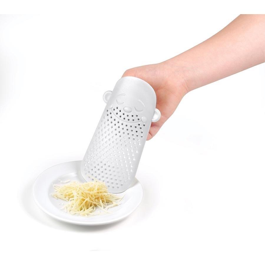 Rallador de queso hombre barbudo nuevo blanco dise o for Rallador de cocina