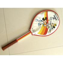 Raqueta Tenis Disney Original Para Niños Como Nueva
