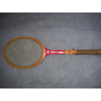 Raqueta De Squash O Tennis De Madera Marca Spalding