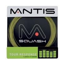 Raqueta String - Mantis Negro Turísticos Respuesta 17g Set