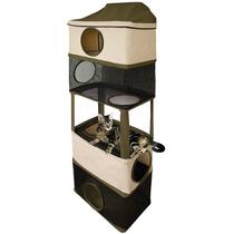 Torre trepadora para gato casa juego resistente ara azos pm0 - Trepadores para gatos ...