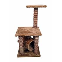 Arbol Trepador Rascador Para Gatos Trepar Casa 85 Cm