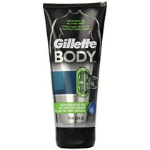 Gillette Cuerpo De Hombre Shave Gel, 5,9 Fl Oz