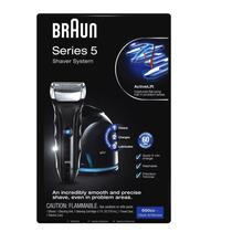 Rasuradora Braun Series 5 550-cc Con Sistema Clean&renew.