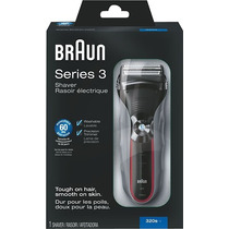 Braun - Series 3-320 Solo Rasuradora - Negro/gris