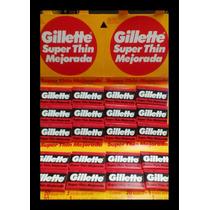 Gillette Hoja Roja Para Afeitar