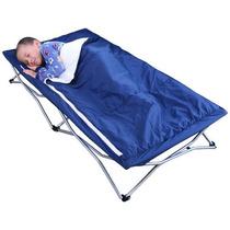 Catre Infantil Plegable Con Bolsa Para Dormir