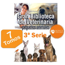 Gran Biblioteca De Veterinaria Pequeños Animales Serie 3ª