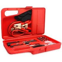 Car And Driver Ca022-rd Rojo 31-piece Tool Kit De Emergencia